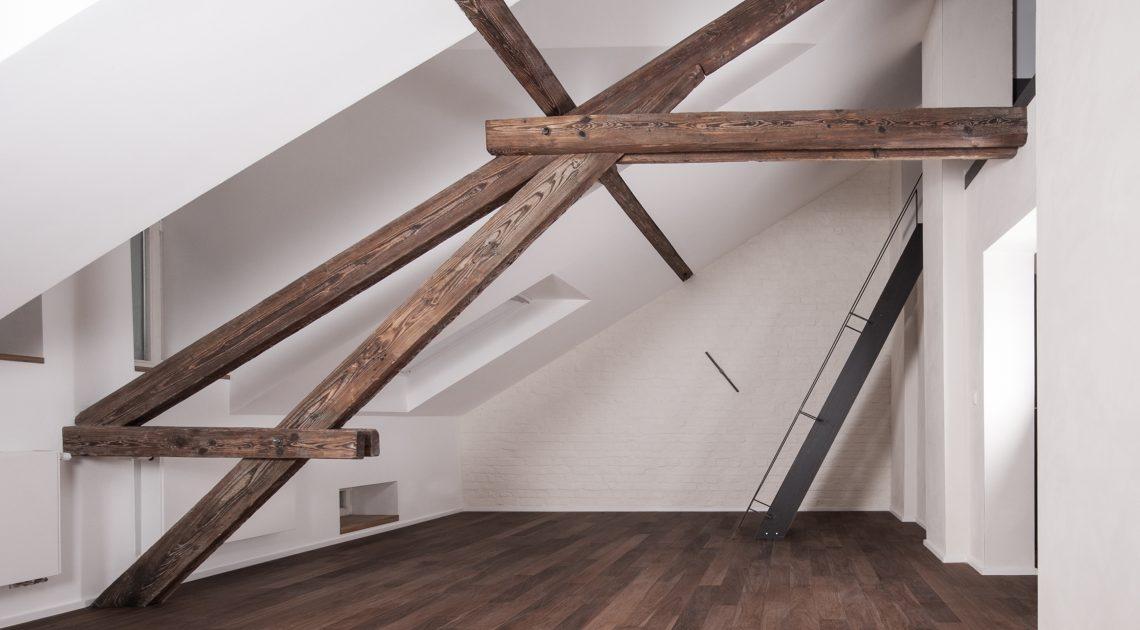 Dachgeschoss Wohnung | Aachen – Schüppel von Hehn Architekten – Architektur aus Aachen - Schüppel von Hehn Architekten – Architektur aus Aachen