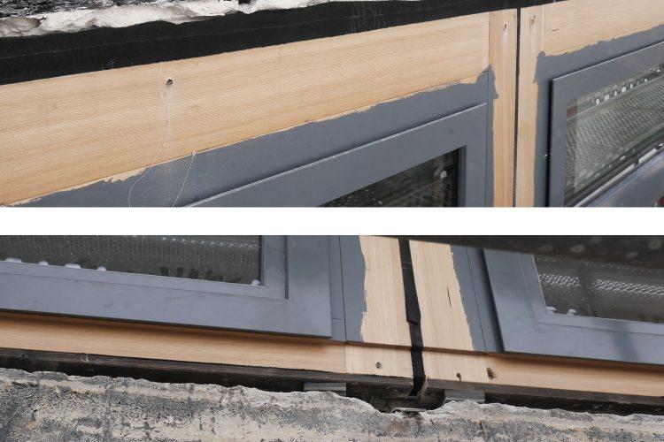 Montage Fensterelemente