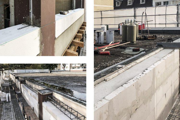 Mauer- und Betonierarbeiten Ringbalken