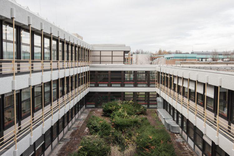 Innenhofbereich zwischen Bauteil B und C