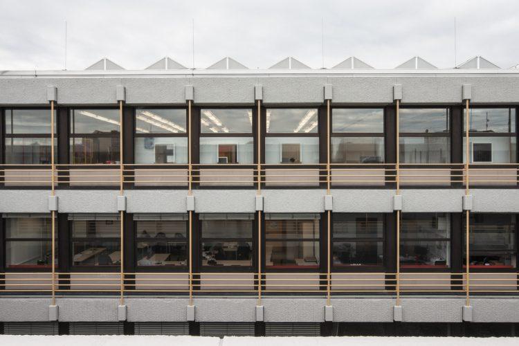 Fassadenansicht Bauteil B