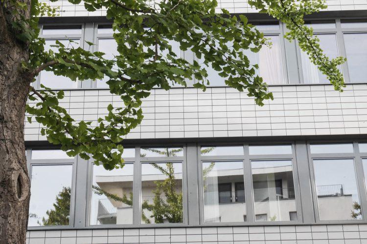 Fassade Schulhof